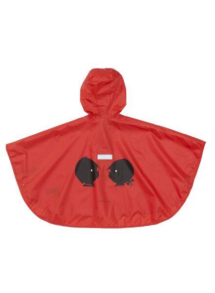 regencape Jip en Janneke rood rood - 1000006224 - HEMA