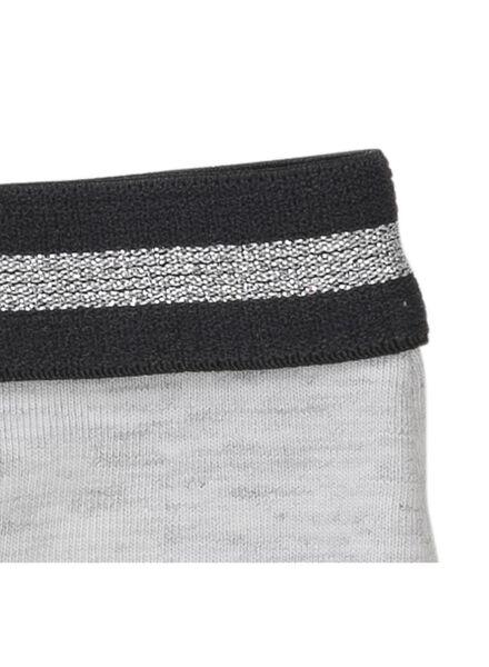 3-pak kinderboxers grijsmelange grijsmelange - 1000011615 - HEMA
