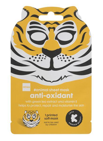sheetmasker tijger - 17860109 - HEMA