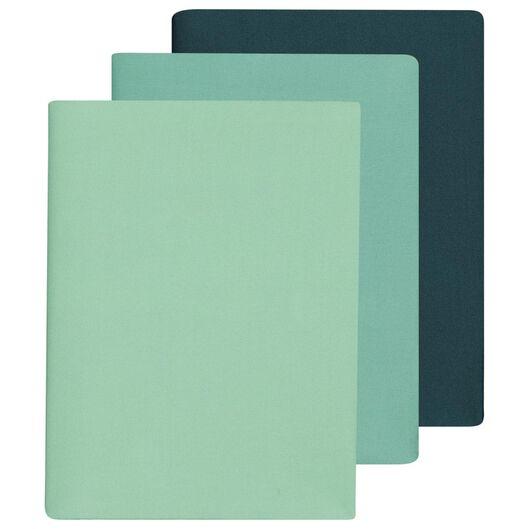 Rekbare boekenkaften groen - 3 stuks - in Schoolspullen