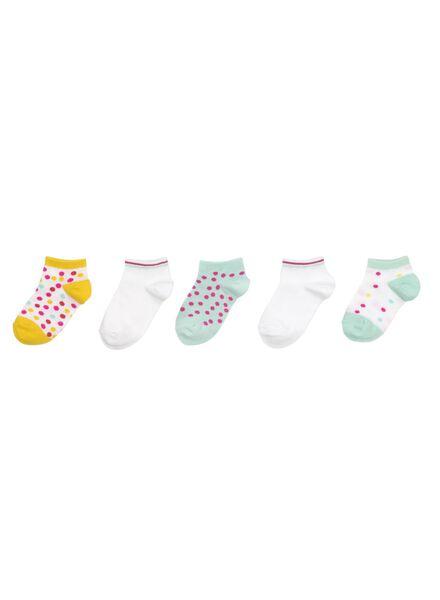 5-pak kindersokken multicolor multicolor - 1000012974 - HEMA