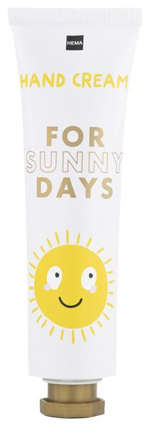 handcrème sunny 65ml - 11360101 - HEMA