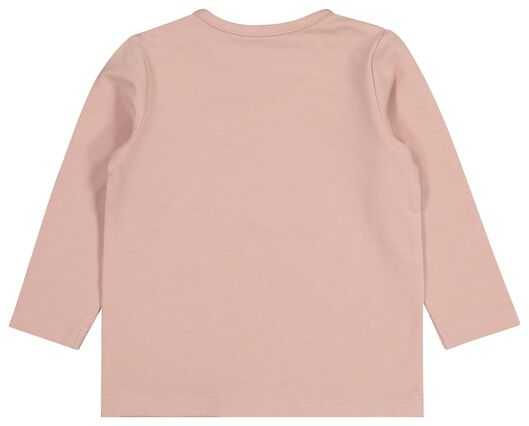 baby t-shirt met bamboe oudroze oudroze - 1000021107 - HEMA