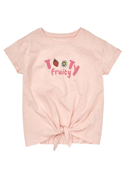 kinder t-shirt lichtroze lichtroze - 1000012636 - HEMA