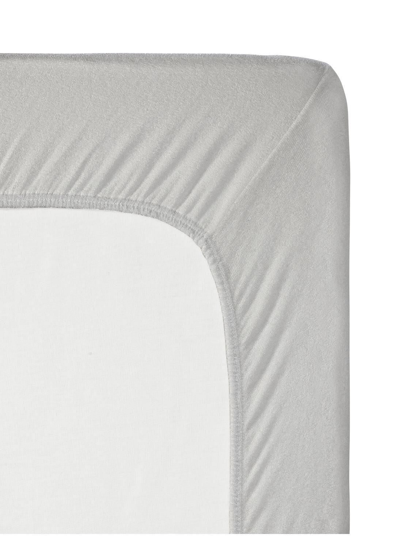 HEMA Jersey Topper Hoeslaken 90 X 200 Cm (gris clair)