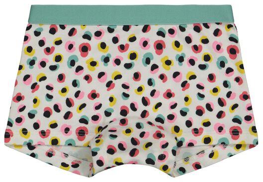 kinderboxers luipaard/streep/bloem - 3 stuks aqua aqua - 1000022784 - HEMA