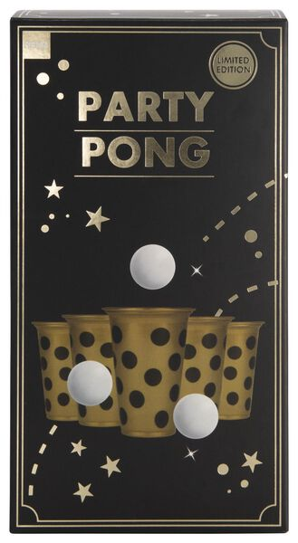 party pong goud - 61122799 - HEMA