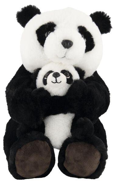 knuffel panda met baby - 15100083 - HEMA