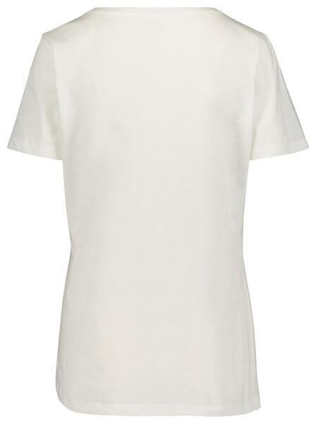 dames t-shirt wit wit - 1000019286 - HEMA