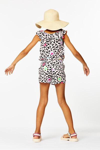 kinder jumpsuit roze roze - 1000023650 - HEMA