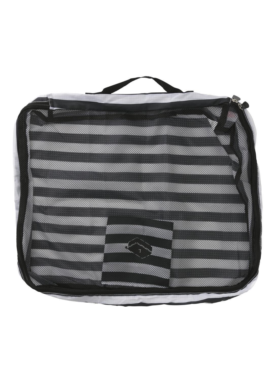 a1c97c1cfbf HEMA Bagage Organizer Maat L (zwart/wit)