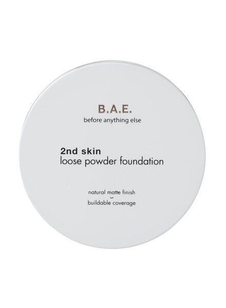B.A.E. loose powder foundation 02 light fleece - 17720082 - HEMA