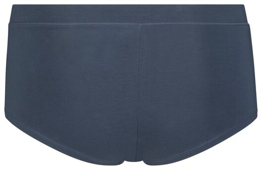 damesboxer real lasting cotton® blauw blauw - 1000018637 - HEMA