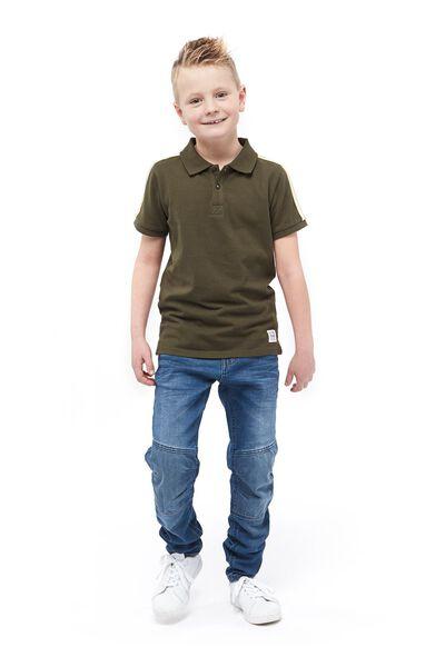 kinderpolo groen groen - 1000017709 - HEMA