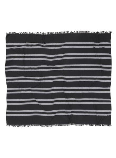 hamamdoek zwart zwart - 1000015142 - HEMA