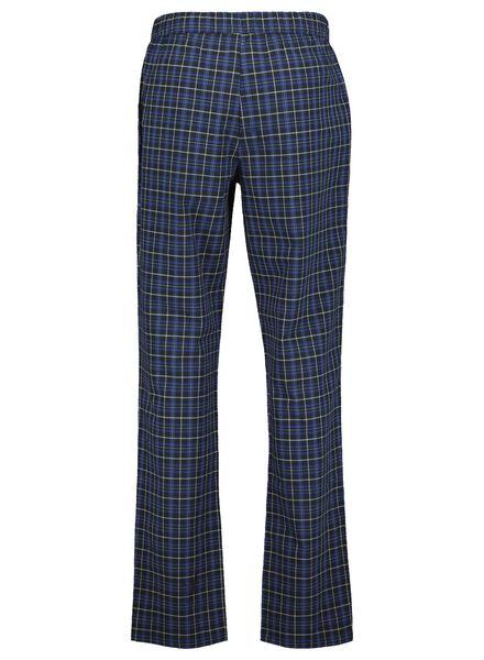heren pyjamabroek donkerblauw donkerblauw - 1000014685 - HEMA