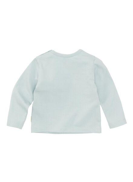 baby t-shirt lichtblauw - 1000008437 - HEMA