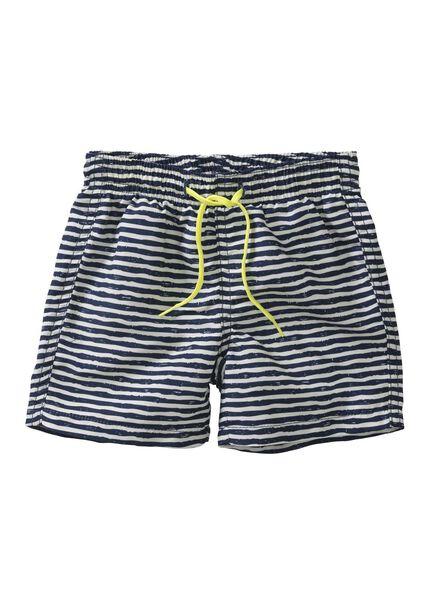 baby zwemshort donkerblauw donkerblauw - 1000004873 - HEMA