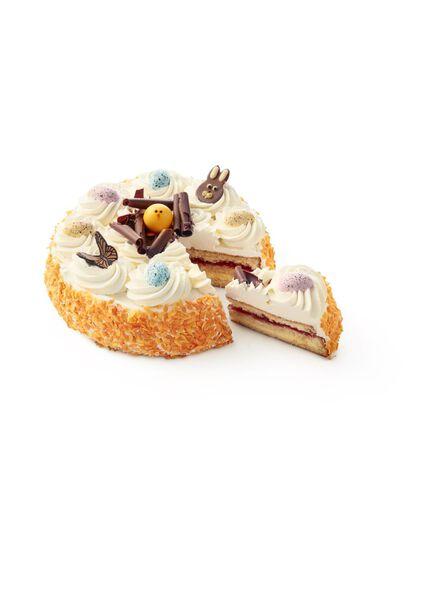 luxe slagroomtaart pasen - 6333013 - HEMA