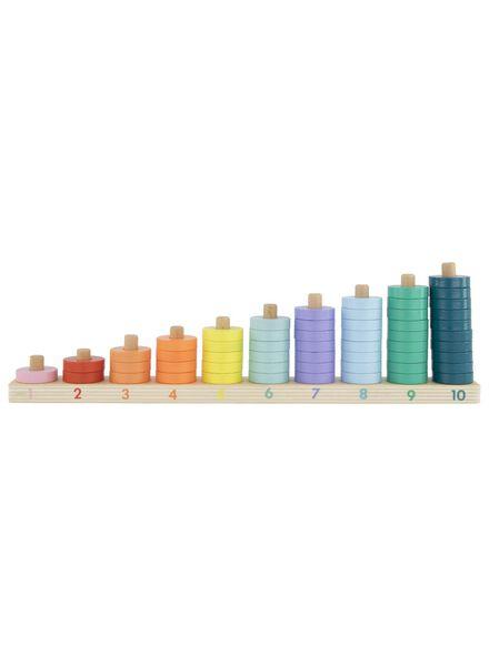 houten stapelpuzzel - 15190249 - HEMA
