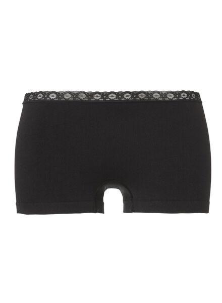 damesboxer naadloos zwart zwart - 1000002002 - HEMA