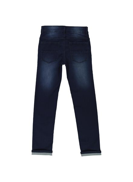 kinder jeans comfy fit donkerblauw donkerblauw - 1000014287 - HEMA