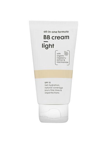 alles-in-één BB crème SPF 15 light - 17870080 - HEMA
