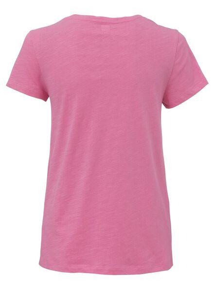 dames pyjama katoen roze roze - 1000013148 - HEMA