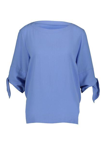 dames top lichtblauw lichtblauw - 1000014852 - HEMA