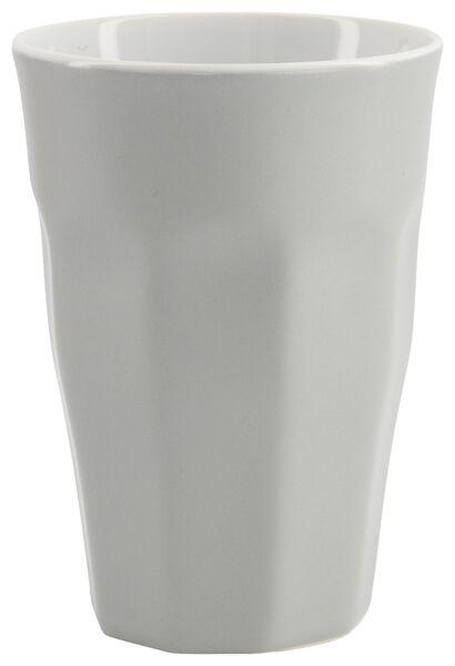 mok - 330 ml - Mirabeau mat - lichtgrijs - 9602211 - HEMA