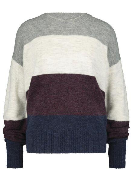 damessweater lichtgrijs lichtgrijs - 1000017120 - HEMA