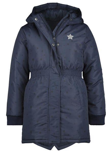 kinderjas donkerblauw donkerblauw - 1000013578 - HEMA