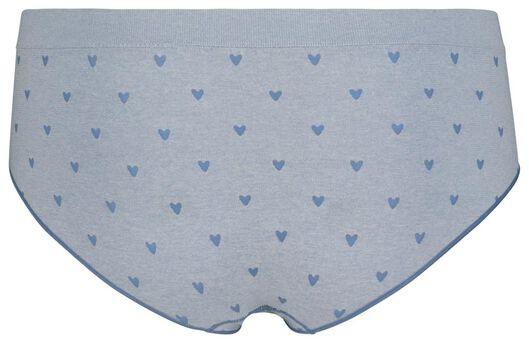 dameshipster blauw blauw - 1000019804 - HEMA