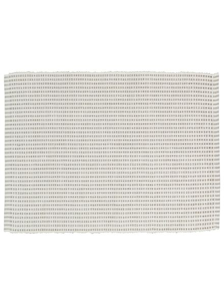 placemats - 42 x 32 - katoen - wit - 2 stuks - 5300073 - HEMA