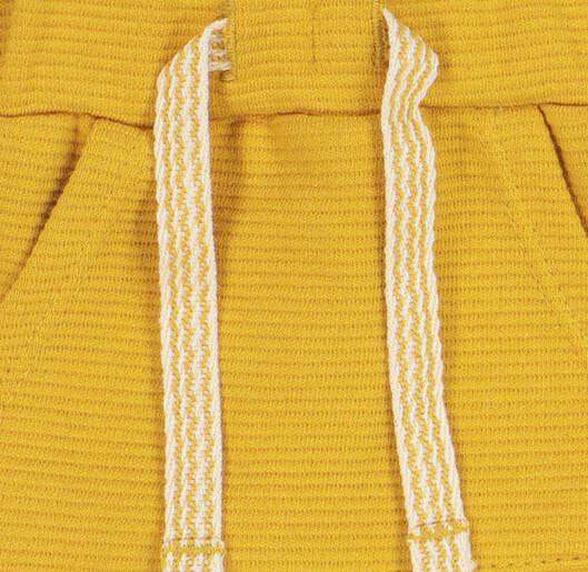 baby korte broek geel geel - 1000020690 - HEMA
