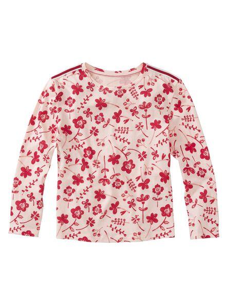 kinder t-shirt lichtroze lichtroze - 1000012004 - HEMA