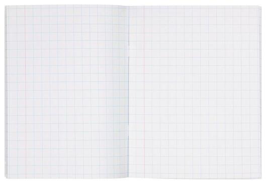 schriften mint A5 geruit 10 mm - 3 stuks - 14101600 - HEMA