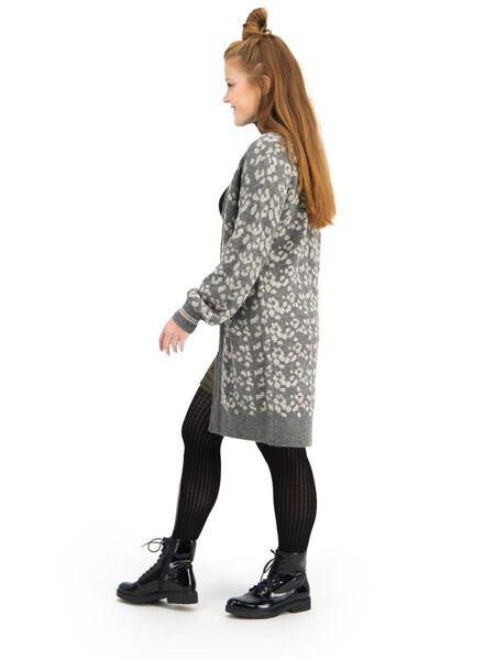 damesvest grijs grijs - 1000015655 - HEMA