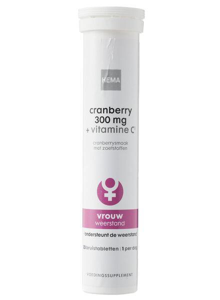 cranberry 300 mg + vitamine C¹ - 11401604 - HEMA