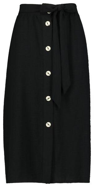 damesrok zwart zwart - 1000019628 - HEMA
