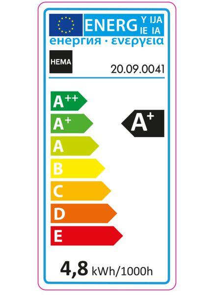 2-pak LED Kogellampen 4,8 watt - GU10 fitting - 20090041 - HEMA