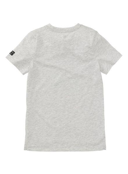 kinder t-shirt middenblauw middenblauw - 1000008243 - HEMA