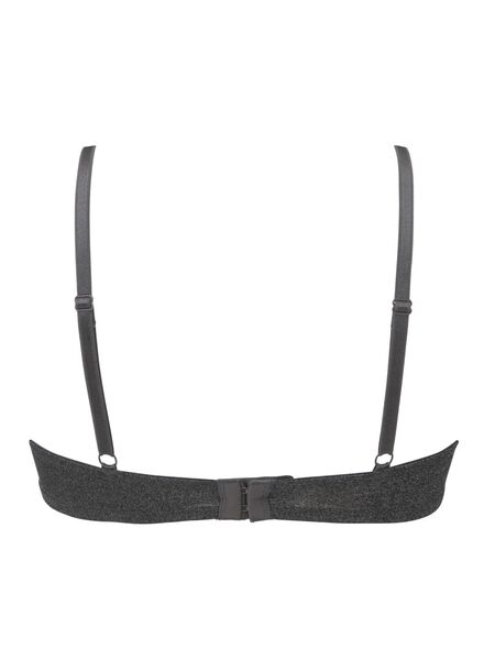 padded t-shirt bh micro grijsmelange grijsmelange - 1000012161 - HEMA