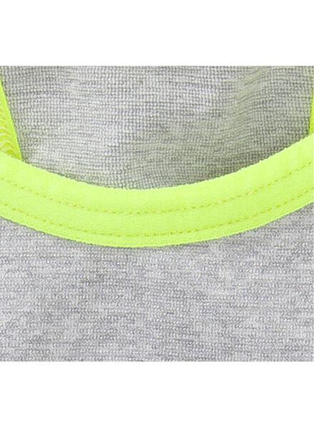 tiener top naadloos grijsmelange grijsmelange - 1000002572 - HEMA
