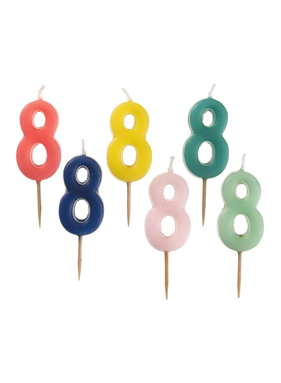 HEMA Cijferkaars 8 (multicolore)