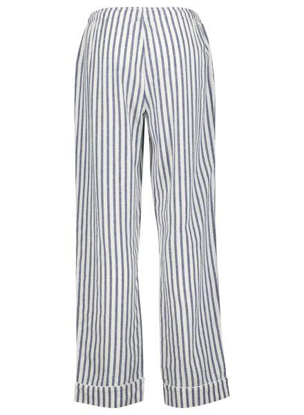 dames pyjamabroek blauw blauw - 1000015493 - HEMA
