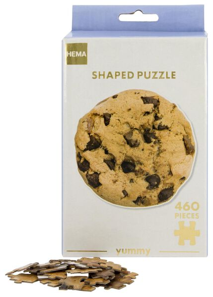 puzzel koekje 460 stukjes - 61120211 - HEMA