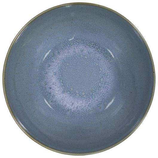 schaal - 26 cm - Porto - reactief glazuur - blauw - 9602028 - HEMA