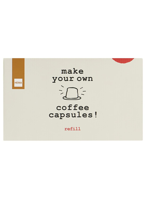 koffiecapsule maker navulset