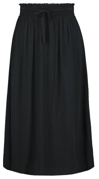 damesrok zwart zwart - 1000023433 - HEMA